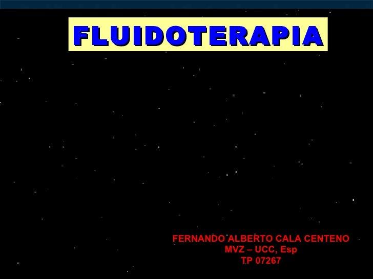 Terapia  de  fluidos