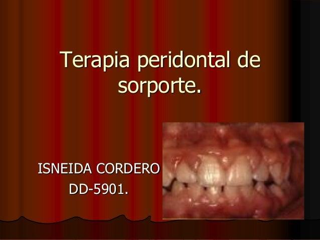 Terapia periodontal de soporte tpi 2010 2