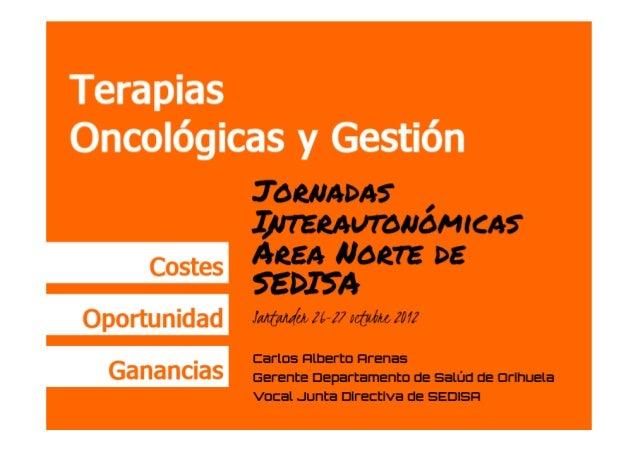 Gestión y Terapias Oncológicas