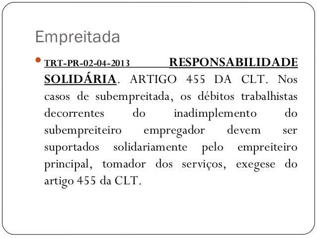 Artigo 42 clt