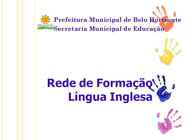 Proposições Curriculares RME-BH 2011