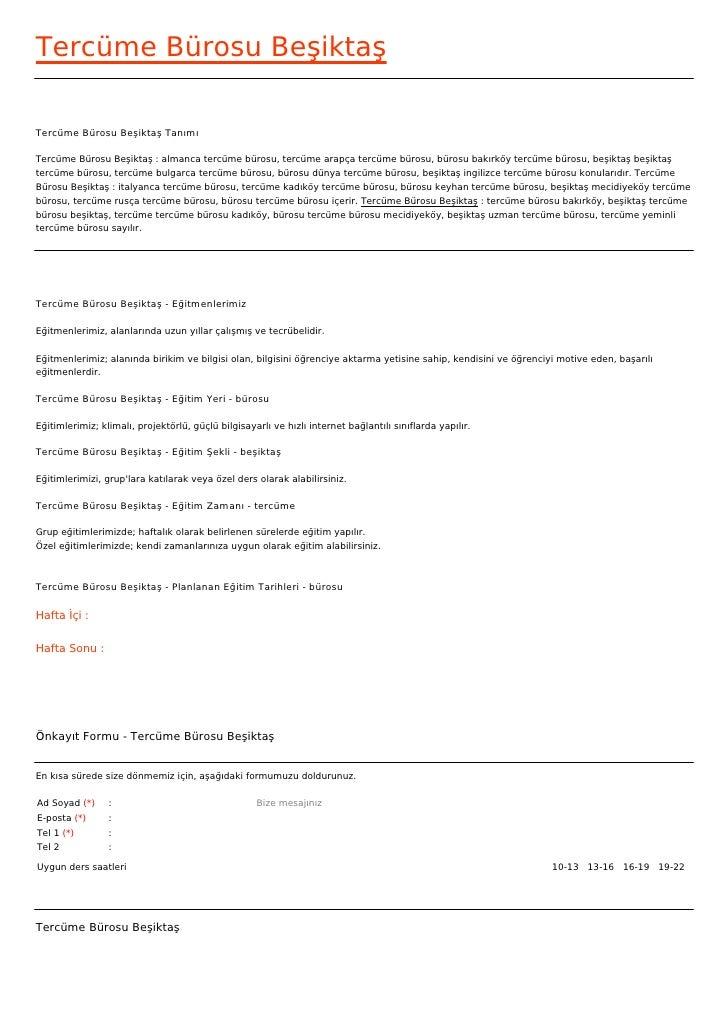 Tercüme Bürosu BeşiktaşTercüme Bürosu Beşiktaş TanımıTercüme Bürosu Beşiktaş : almanca tercüme bürosu, tercüme arapça terc...