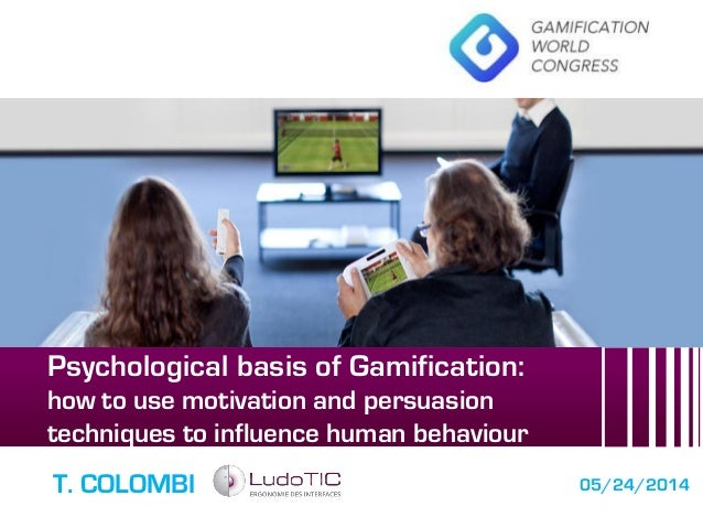 """GWC14: Teresa colombi - """"Psychological basis of gamification"""" (gHealth workshop)"""