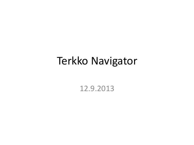 Terkko navigator092013