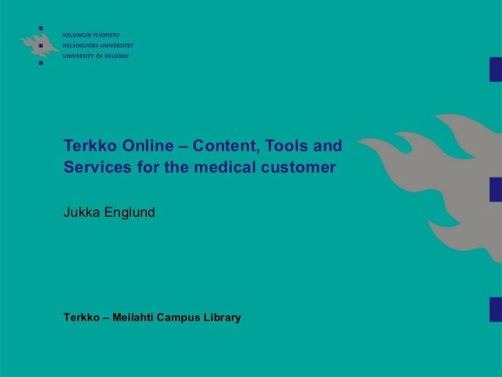 Terkko online2011