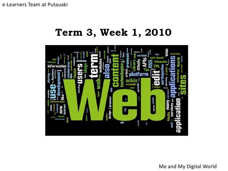 Term 3, Week 1, 2010