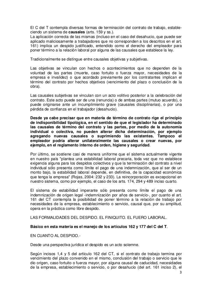 Modelos De Cartas Terminacion Contrato