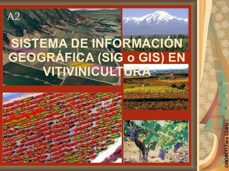 SISTEMA DE INFORMACIÓN GEOGRÁFICA (SIG o GIS) EN VITIVINICULTURA OROSCO,Fara Eliana