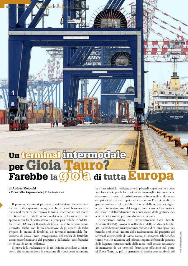 64     dossier          energiedelfuturo Un terminal                                 intermodale per Gioia                ...