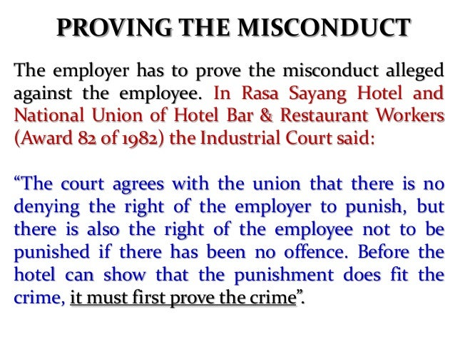 show cause notice to employee for misconduct hr letter