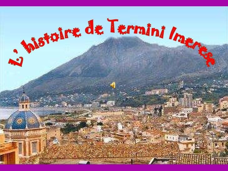L' histoire de Termini Imerese