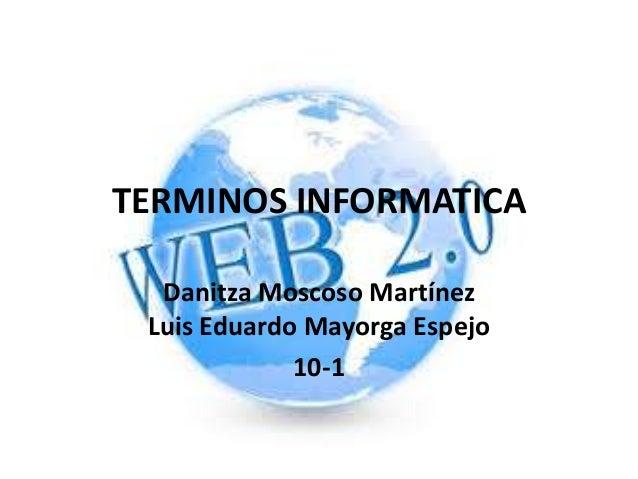 Terminos informatica