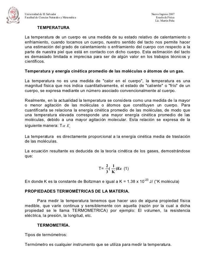 Universidad de El Salvador                                         Nuevo Ingreso 2007Facultad de Ciencias Naturales y Mate...