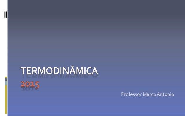 Professor MarcoAntonio