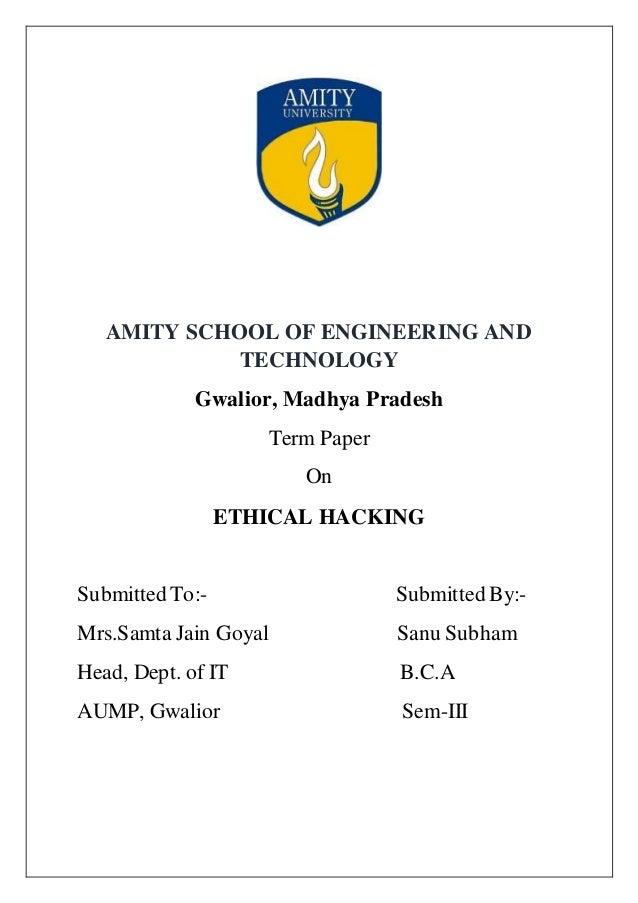 ethics of hacking essay