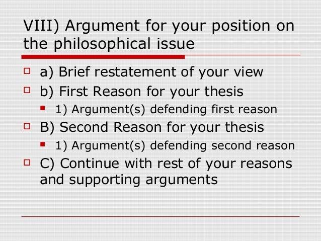 philosophy midterm