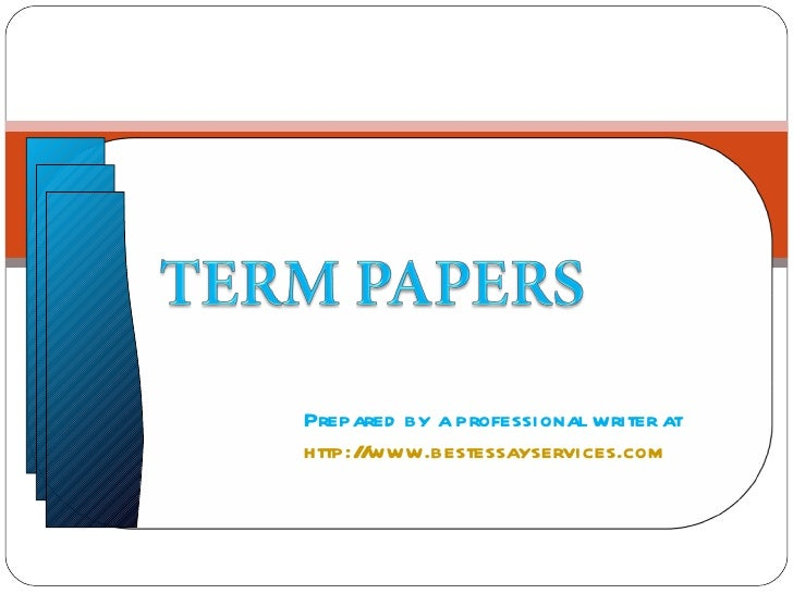 Term paper writing service to rely on today and in the future