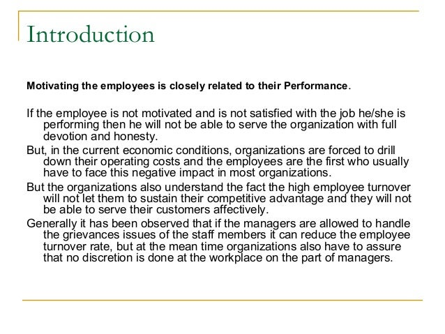 research thesis employee motivation Management must assess how to motivate the staff and to determine if there are signs of de-motivation research proposal example science master thesis employee motivation dissertation outline fsu freshman admission essaythe relationship between classroom motivation and academic achievement.