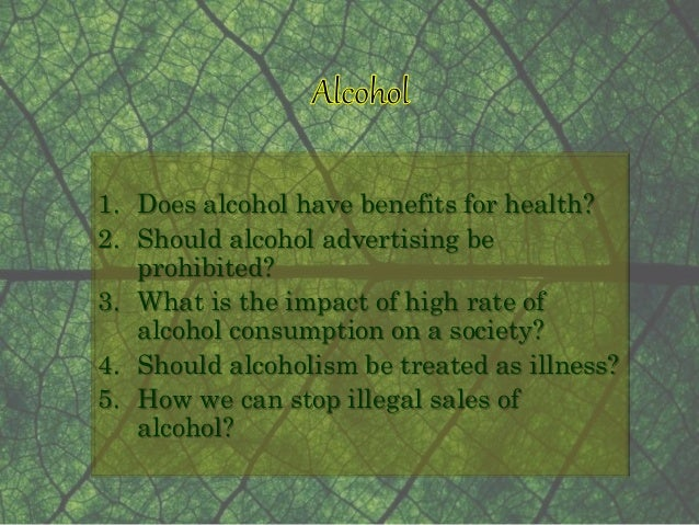 alcohol should be prohibited essay American prohibition 1900-1945 argumentative essay: prohibition of alcohol consumption in selling and manufacturing of intoxicating liquors absolutely prohibited.