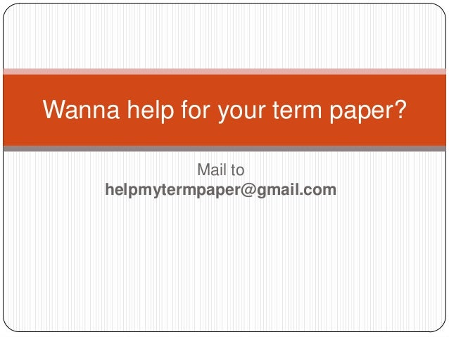 Help is school papers