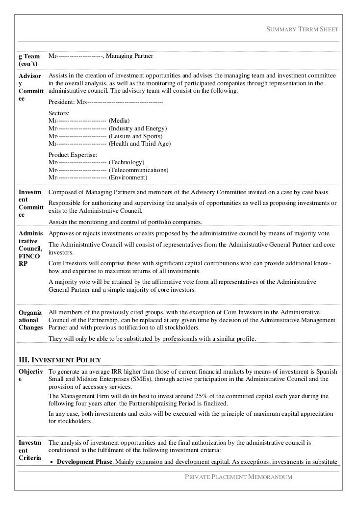 funding sample case for business
