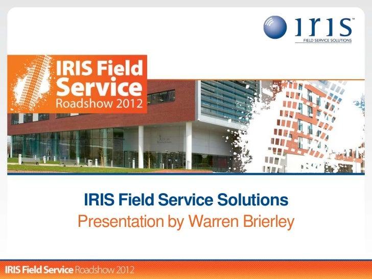 IRIS SiCLOPS Masterclass