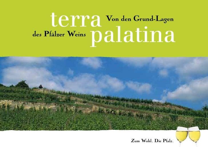 Zum Wohl. Die Pfalz.