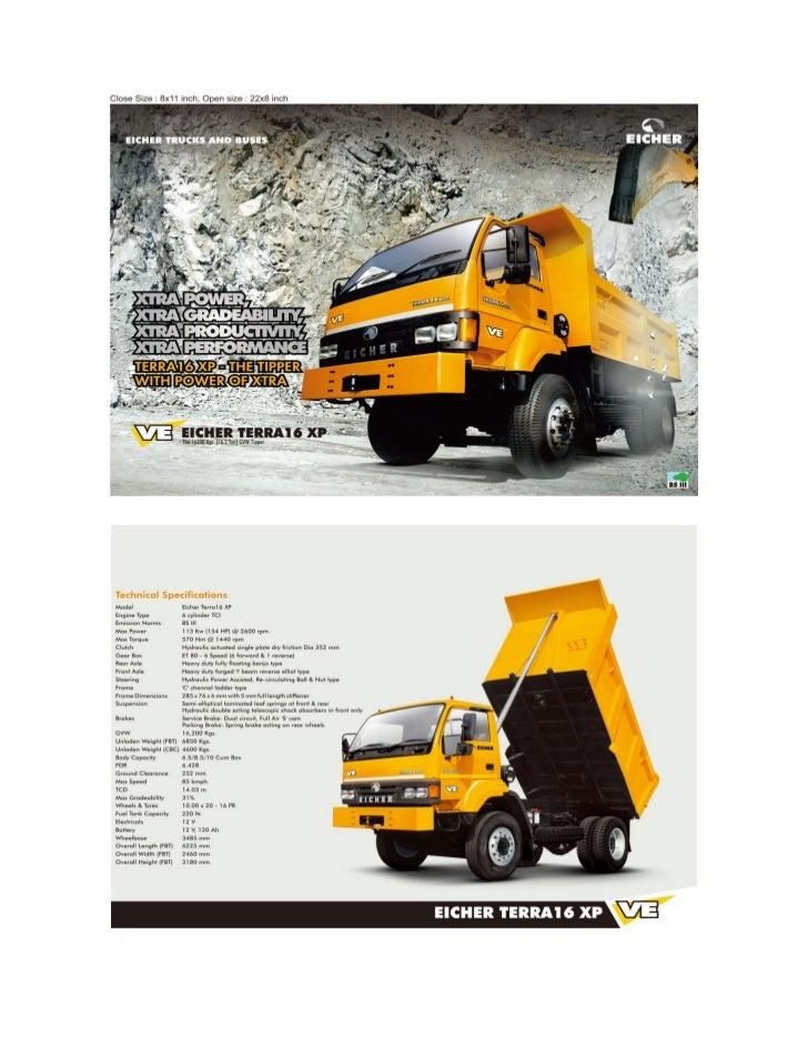 Terra 16 xp   tipper trucks