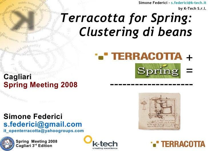 Terracotta Springmeeting
