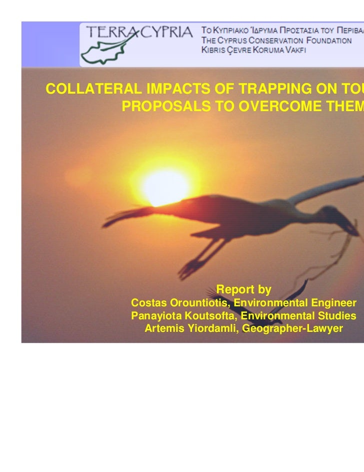 COLLATERAL IMPACTS OF TRAPPING ON TOURISM AND        PROPOSALS TO OVERCOME THEM                                           ...
