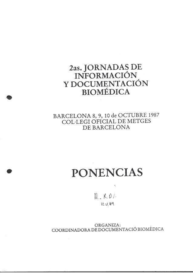 Aproximación al concepto y posible implantación de una red de bibliotecas del Institut Català de la Salut