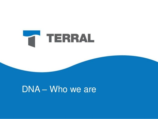 About Terral River Service - Our DNA