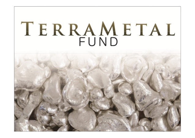 About Us TerraMetal Investment Founded in 2010 So far private and institutional investors have not had the chance to inves...