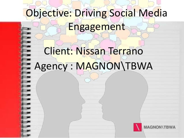 Objective: Driving Social Media Engagement Client: Nissan Terrano Agency : MAGNONTBWA