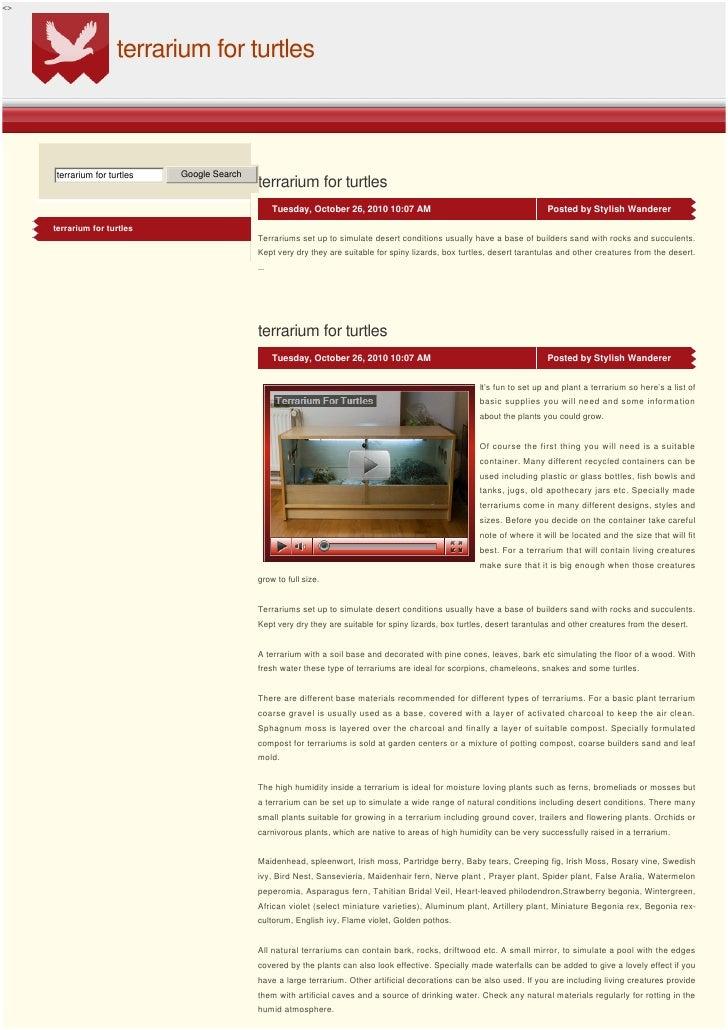 <>                         terrarium for turtles         terrarium for turtles   Google Search                            ...