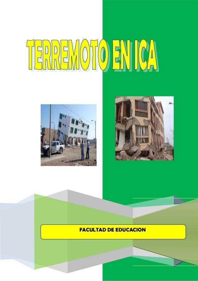 FACULTAD DE EDUCACION