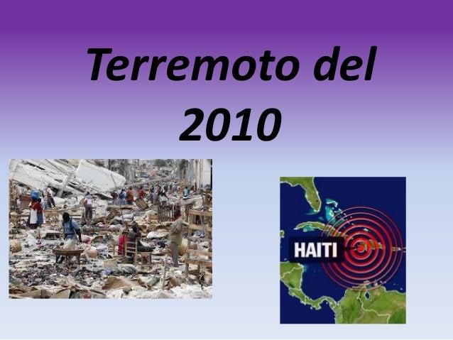 Terremoto del 2010
