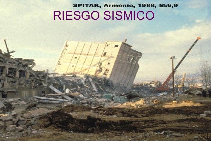 RIESGO SISMICO