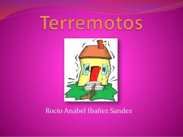 Rocío Anabel Ibañez Sandez