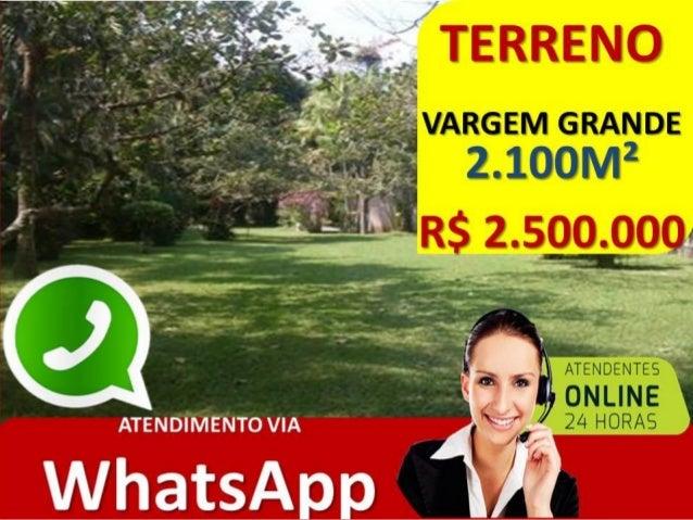 TERRENO VARGEM GRANDE RJ • TERRENO FRENTE DE RUA • 2100M² • ESTRADA DOS BANDEIRANTES • PLANO • RESIDENCIAL E COMERCIAL • R...