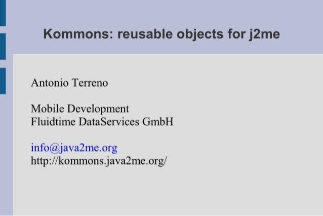 Terreno Kommons JMDF First Meeting