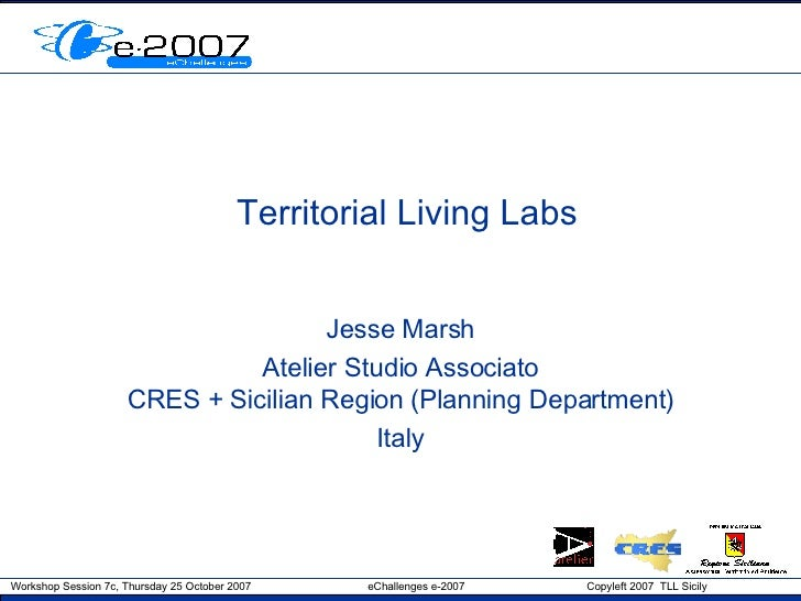 Territorial Living Labs