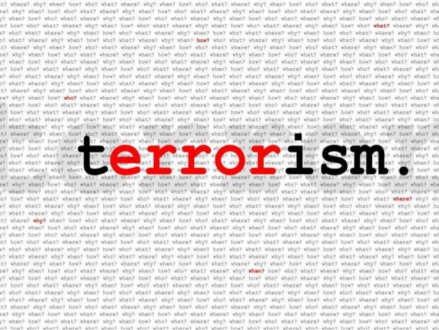 Terrorism-Causes and Types