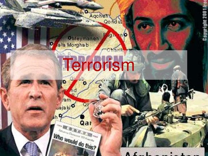 Today's War on Terror