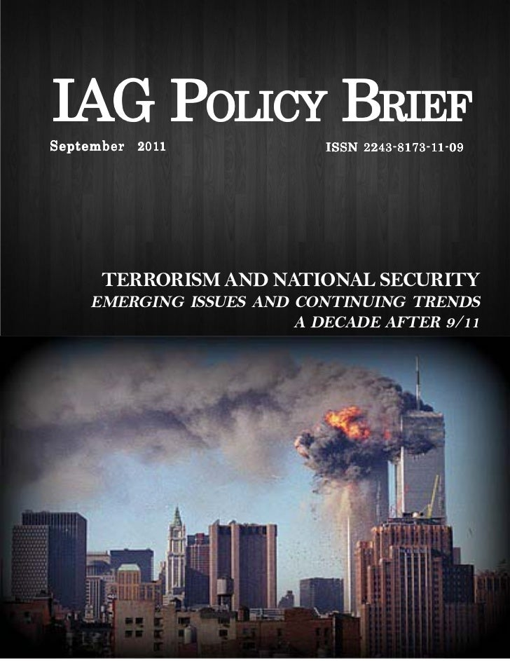 Terrorism and national security