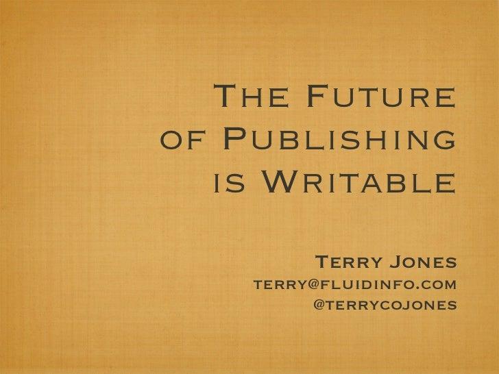 Terry Jones TOC 2011 slides