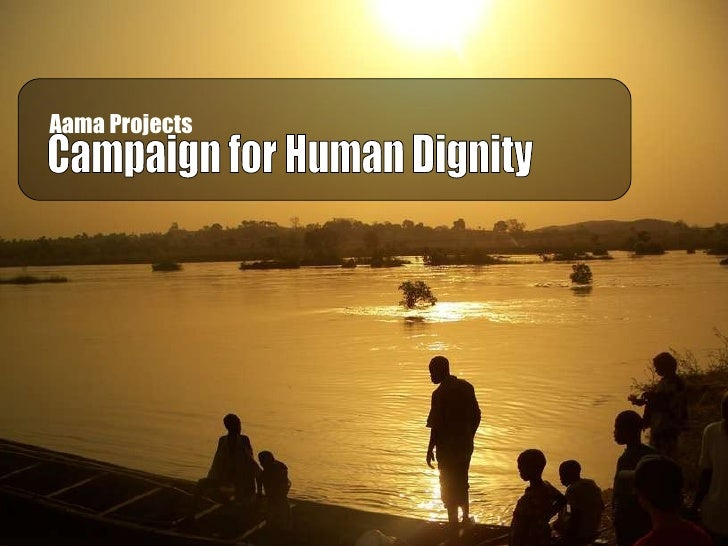 Aama Projects   Campaign for Human Dignity