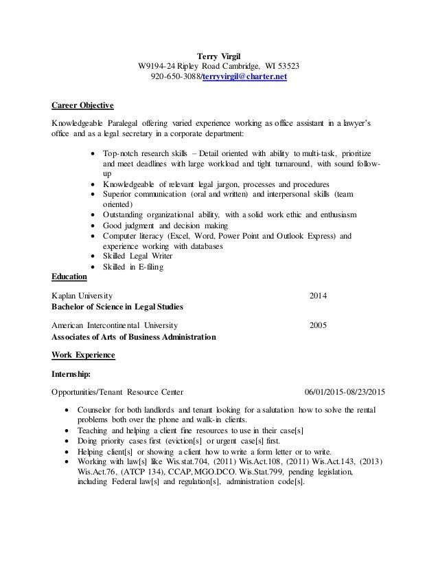 Resume templates administrative coordinator
