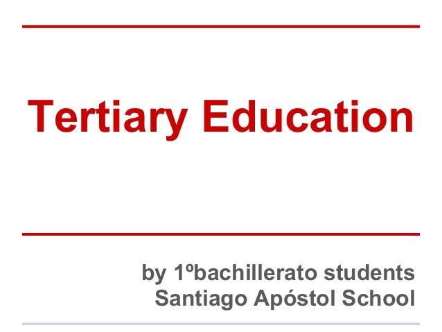 Tertiary education, Spain