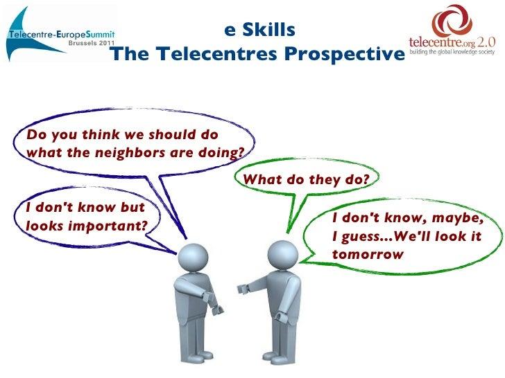 """Miguel Raimilla: """"eSkills: The Telecentres Perspective"""""""